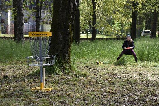 Varazdin, Croatia: Hole 8 at the course, photo made at Black Cats + WGE tournament in 2021