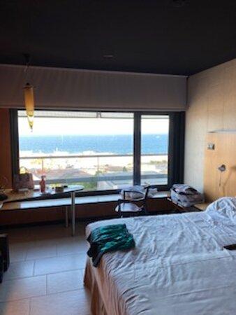 Vista mar desde la habitación