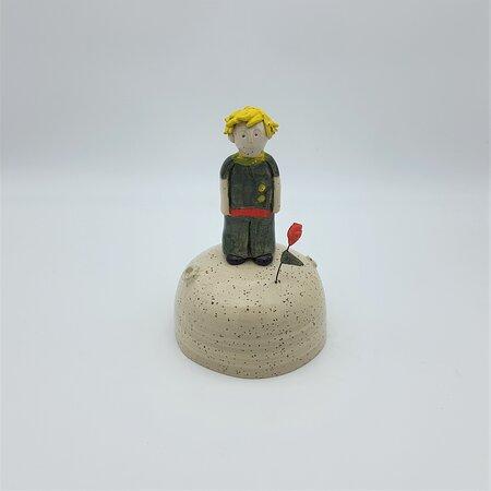 little prince  handmade ceramic decoration
