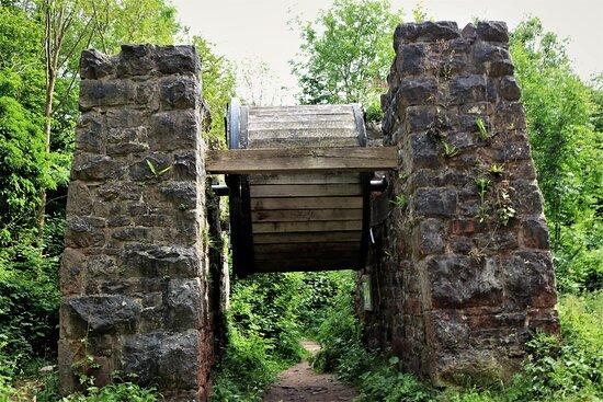 11.  Llanymynech Limeworks Heritage Area, Llanymynech;  The English Brake Drum House