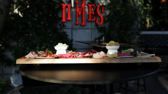 Appetizers at n'Mes