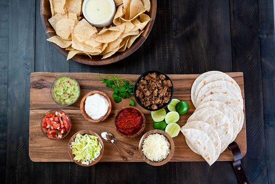 Our Taco Kit with all the fixings. Order an 8 or 12 Taco Kit today.