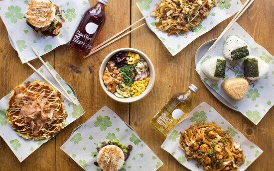 Maido è il primo okonomiyaki street food d'Italia! Proponiamo l'autentica cucina popolare giapponese: l'okonomiyaki, una sorta di frittata a base di farina verza e uova guarnita con ingredienti vari, ma anche onigiri, takoyaki, udon, soba, rice burger, katsu-sandwich, japanese curry, bowl...