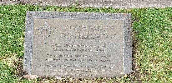 Legacy Garden Of Appreciation.