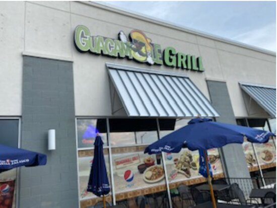 Guacamole Grill Front of store