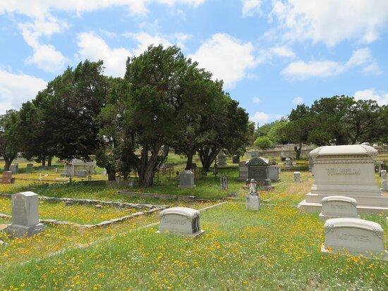 Pioneer Rest Cemetery, Menard, TX, May 2021