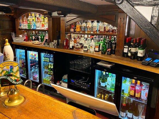 Fully stocked bar 👌🏼