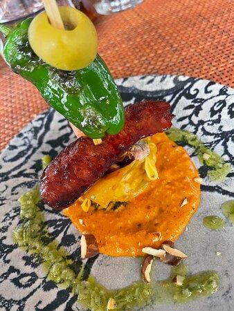 Chorizo and Prawn Sui Mai Dumpling