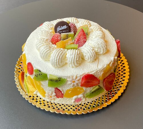 Pastel de nata con frutas naturales. Confitería Padreny. Reus 1815