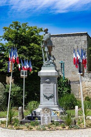 Le square du Souvenir de Saujon