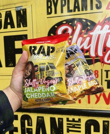 Slutty Vegan Rap Snacks