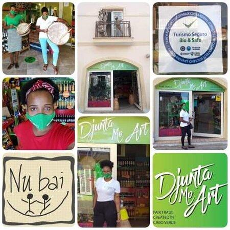 Djunta Mo Art - Fair Trade Created in Cabo Verde -