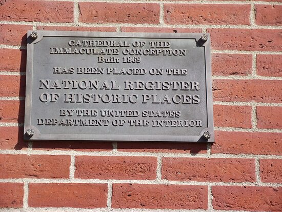 ME - PORTLAND - CATHEDRAL – NATIONAL REGISTER OF HISTORIC PLACES PLAQUE