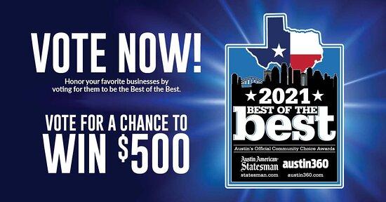 Vote Tso for Austin Best of the Best 2021 https://statesman.gannettcontests.com/Austin-best-of-the-best-2021/gallery/293088244/