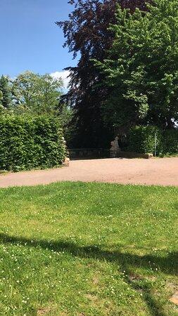 Rosengarten Garten Park Dresden - záhrada