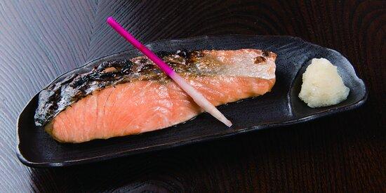 Salmon shio Yaki