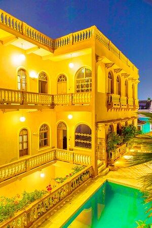 Sala - Apartamento Múltiple Vista a la Bahía - Gambar Casa Morales Cartagena by Soho - Tripadvisor