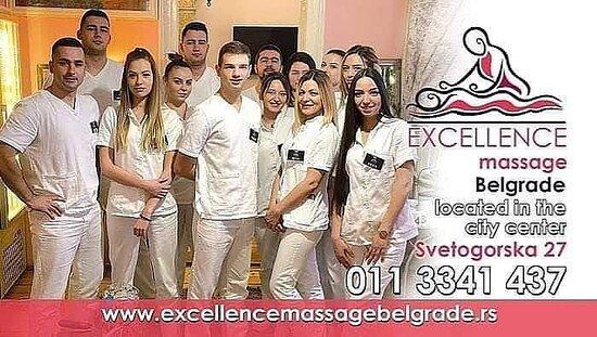 Ekselencija masaza Beograd - Excellence massage Belgrade, najveći centar za masažu u Beogradu, regionu, radimo svakog dana od 7 ujutru do ponoci svih 365 dana u godini i vikendom, posetite naš Web sajt www.excellencemassagebelgrade.rs (cenovnik je na sajtu) i saznajte sve o nama... POKLON VAUČEROM OBRADUJTE NEKOG SVOG, LEP DAN ŽELIMO!