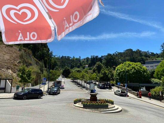 Vista privilegiada da nossa esplanada para a avenida principal ...
