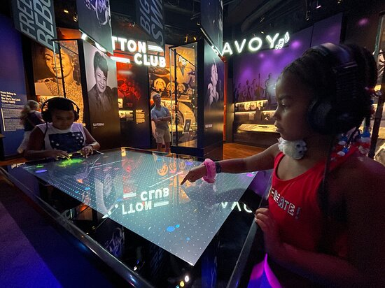 National Museum of African American Music Nashville Admission Ticket: Interactive music tables