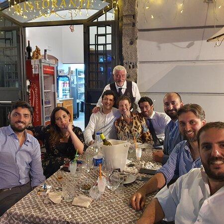 con Alessandra Clemente e tanti altri assessori del Comune di Napoli