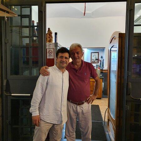 con il Dottore Paolo Porreca