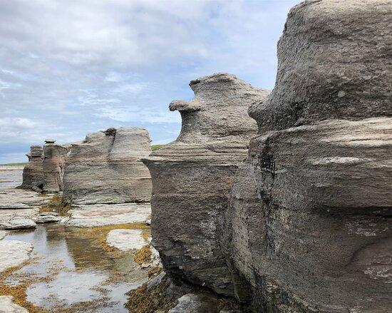 Monolithes Île Nue Mingan