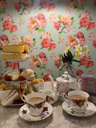 Our delicious afternoon tea! We can cater to all dietary requirements (please contact us for info)