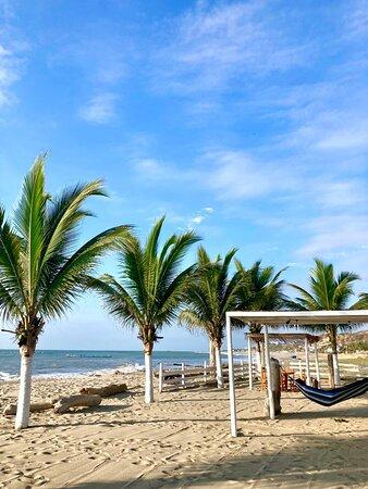 Zona de playa Costa Nueva
