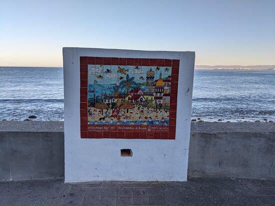 The Tile map near the Friendship Fountain.