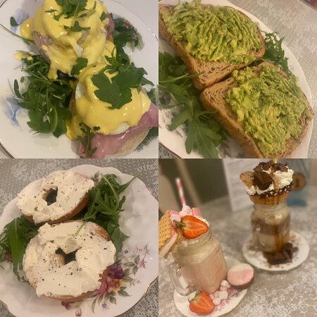 Breakfast? Here's a few of our breakfast selections!