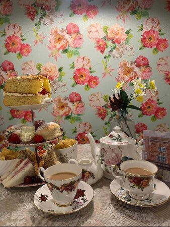 Our beautiful Afternoon tea!