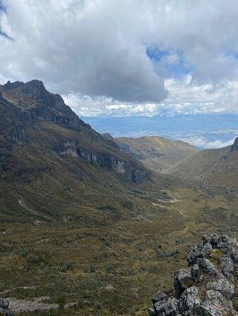 Ισημερινός: Some of the incredible places we have visited and ran on. These are places around Quito to do some trail running, trekking, hiking, moutaneering. The trail program is incredible. Lovely places, amaaazing views!!