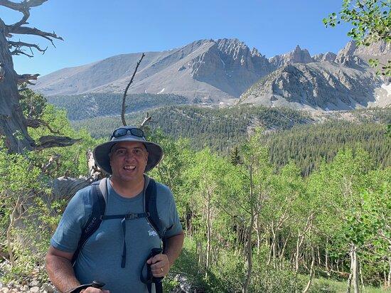 Me as we begin our trek
