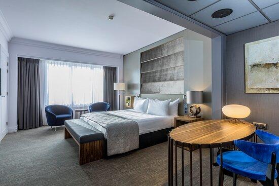 Hotel Okura Amsterdam Panorama Room Bedroom