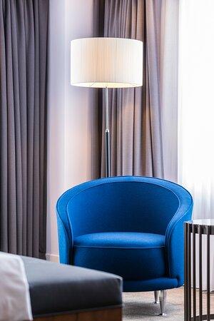 Hotel Okura Amsterdam Panorama Room Bedroom Detail