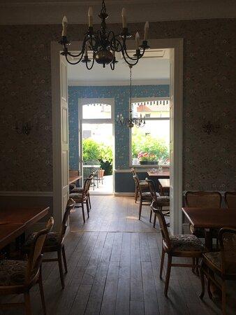 Breakfast room with outside terrace