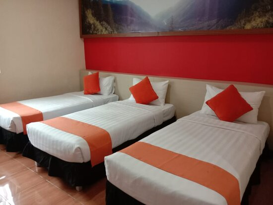Superior Room with 3 Single Beds