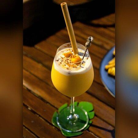Cocktail: Mango No Sticky Rice 🥭🍹