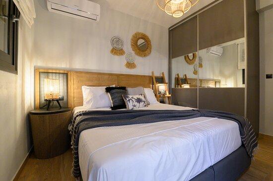 The Blue Villa υπνοδωμάτιο