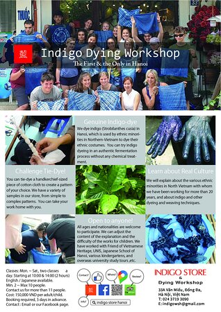 Indigo Dying Workshop @ Hanoi. Give your kids a great summer holiday event if you have no idea to go somewhere out of Hanoi. Come and join us! To resister contact us through direct message or FB messenger. https://www.facebook.com/IndigoStoreHanoi  #indigo #indigostore #summer2021  #summerholiday #hanoi #workshop #藍 #藍染教室 #藍染体験 #夏休み #hanoi #ハノイ #vietnam  #ベトナム #event #イベント  #2021年夏