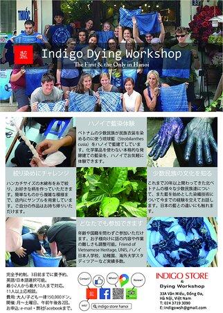 藍染教室@ハノイ せっかくの夏休みなのにどこも行けないお子様のために、ハノイ市内でお手軽に体験できる藍染教室はいかが? 完全予約制 予約はインスタダイレクトメールまたはFBメッセンジャーまで #indigo #indigostore #summer2021  #summerholiday #hanoi #workshop #藍 #藍染教室 #藍染体験 #夏休み #hanoi #ハノイ #vietnam  #ベトナム #event #イベント  #2021年夏