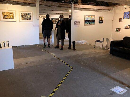 Lidt af udstillingen
