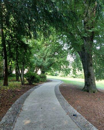 Besana in Brianza, Itália: Parco di villa Filippini, presso il quale si possono ammirare alberi centenari tra cui faggi, tigli e querce
