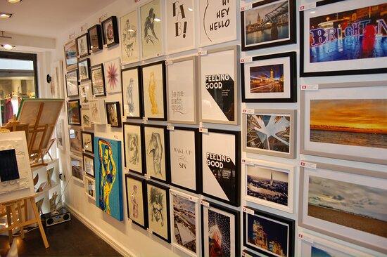 Inside the Brighton Box Gallery