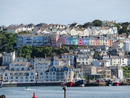 Brixham from the breakwater