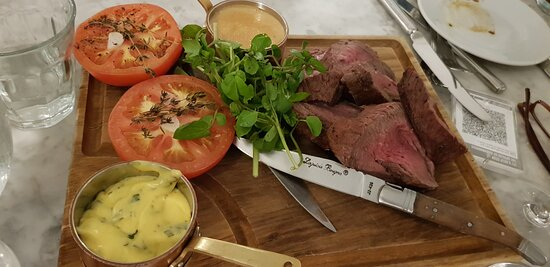 Chateaubriand sharing plate