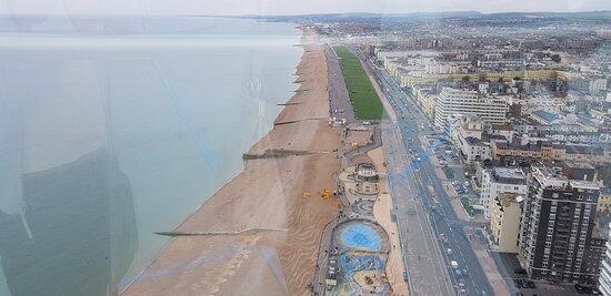 British Airways i360 Viewing Tower - Flight: view