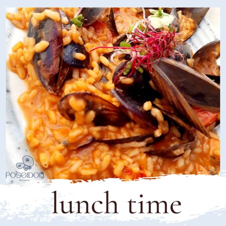 It's about time to experience the Fresh Sea-Taste of our Mussel Risotto!