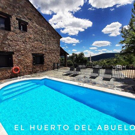 Almiruete, Ισπανία: Piscina recinto